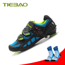TIEBAO cycling shoes road superstar original sapato ciclismo bicicleta outdoor sneakers bike SPD triathlon