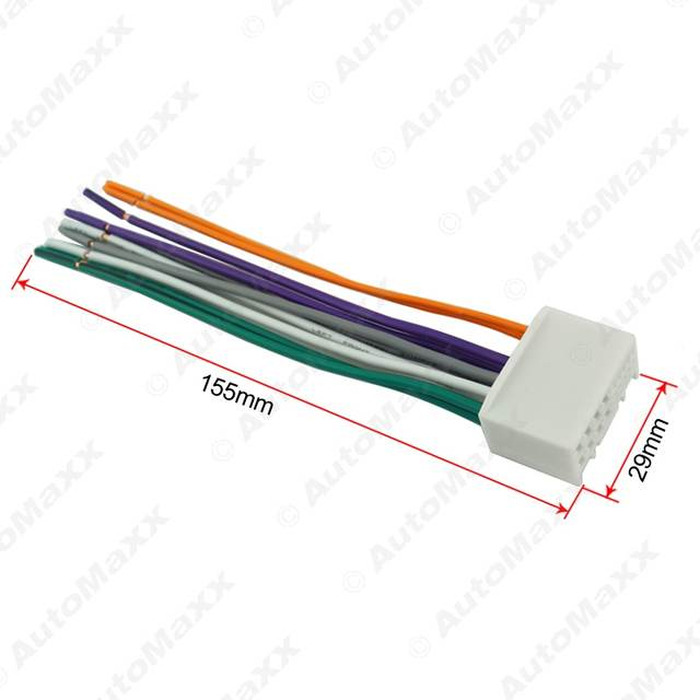 Swell Online Shop Car Audio Cd Stereo Wiring Harness Adapter With Usb Aux Wiring Digital Resources Jonipongeslowmaporg
