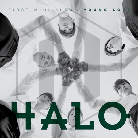 HALO 1ST MINI ALBUM - YOUNG LOVE  Release Date 2015-12-4 KPOP loz my neighbor totoro toy umbrella totoro model action figure diamond building blocks original box 14 gift 9509
