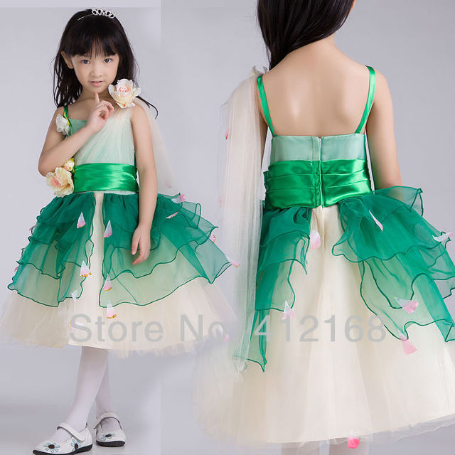1410142fef9 Holy Communion Dress Girls Pageant Dresses Colourful Flower Girl For  Weddings party Kids Fantasy Prom Princess Children s 5877