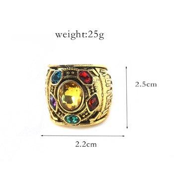 Кольцо камни Таноса Мстители Война бесконечности 1