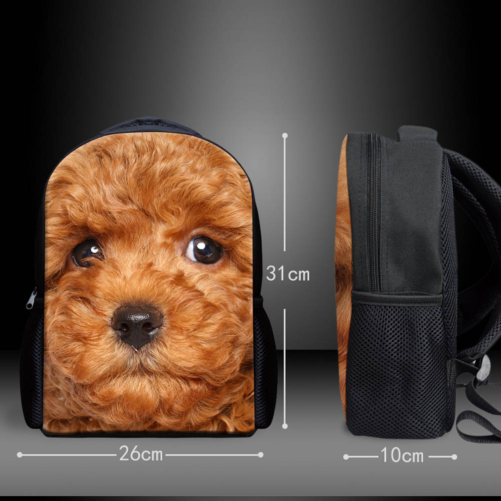 696bc1738b WHOSEPET Kawaii Dogs Printing Mini Backpacks for Girls Preschool Shoulder Book  Bag 12 inch Small Satchel Fashion Animal Rucksack-in School Bags from  Luggage ...