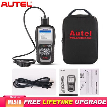 Autel MaxiLink ML519 OBD2 Scanner Engine Car Diagnostic Tool Scanner Automotive OBD2 Code Reader Batter Than ELM327 Auto Scanner