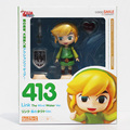 """Cute Nendoroid The Legend of Zelda Link the Wind Waker Ver. #413 PVC Acton Figure Model Collection Toy 4"""" 10cm"""