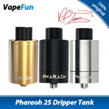 Original Digiflavor Pharaoh 25 Dripper Tank Electronic Cigarette 3ml Capacity Airflow Control 510 Thread Pharaoh 25 Atomizer