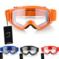 Motorcycle Motocross Goggles Sunglasses ATV Helmet Eye Protection Glasses Goggle Orange Red Blue Black Windproof Glasses