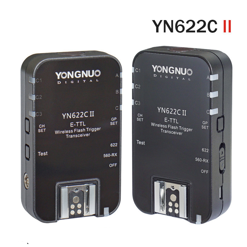 YONGNUO YN622C II HSS E-TTL Flash Trigger for Can Camera Compatible With YN622C YN560-TX RF-603 II RF-605 yongnuo yn e3 rt ttl radio trigger speedlite transmitter as st e3 rt compatible with yongnuo yn600ex rt