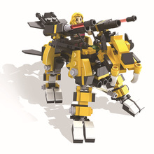 HSANHE 6222 Sacred Union Series Tiger King Educational Diamond Bricks Minifigures Building Block Toys Gift