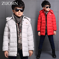 New Big Boy Jackets Snowsuit Children Winter Boys Parkas Down Coat Clothing For Winter Outerwear Kids Warming Down Jacket GH227