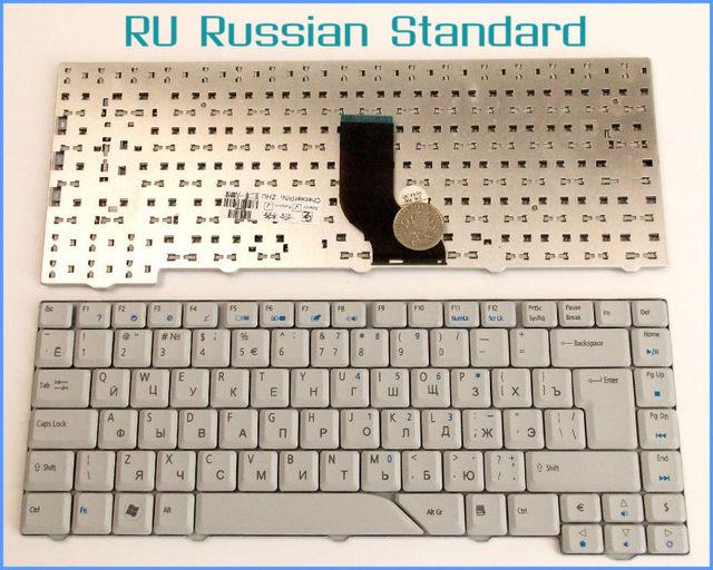 Laptop Keyboard for Acer Aspire 5720 5720 5720G 5720Z 5720ZG 6935 6935G 4937G 6920G 5220 Russian RU Version Gray