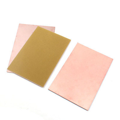 3pcs 15x10cm One Side Copper Foil Coated Printed Circuit Board PCB Board 5pcs copper tone single side pcb printed circuit board stripboard 3 5 x 2 8