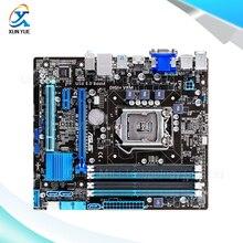 For Asus B75M-PLUS Original Used Desktop Motherboard For Intel B75 Socket LGA 1155 For i3 i5 i7 DDR3 32G SATA3 USB3.0 uATX