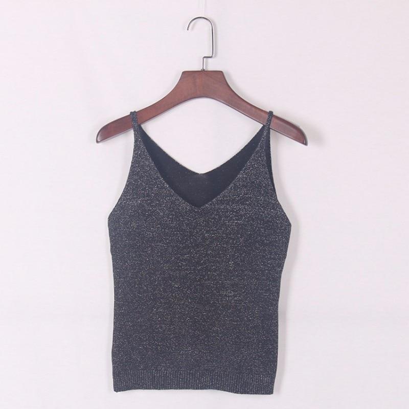 HTB1cp7CKVXXXXcEapXXq6xXFXXXk - FREE SHIPPING  V-Neck Sweater Strappy Sleeveless Vest Women Tank Tops JKP251