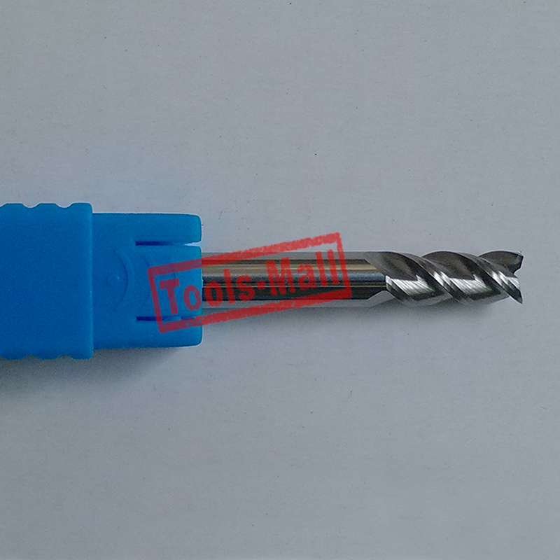 1pc 12mm D12*30*D12*75-HRC50 3 Flutes Milling cutters for Aluminum CNC Tools Solid Carbide CNC flat End mills Router bits e3f3 d12