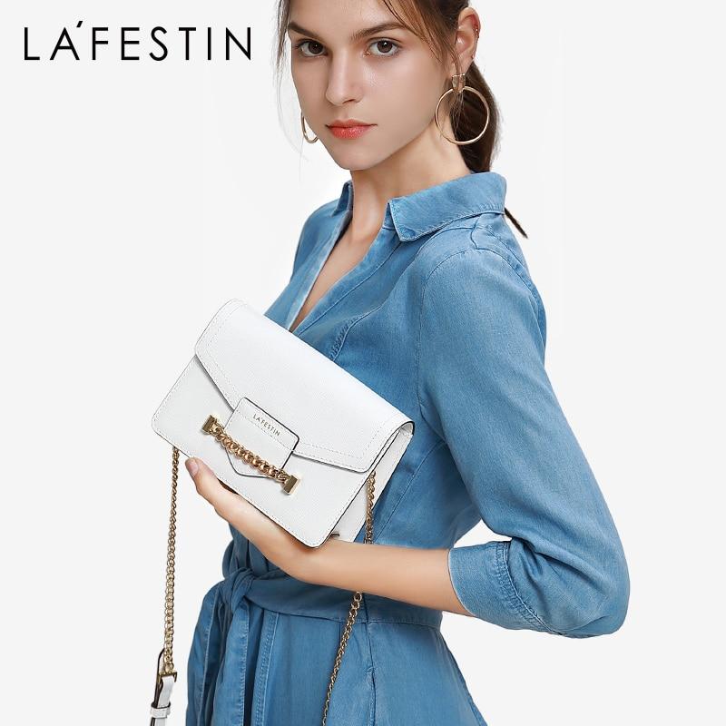 LA FESTIN fashion Envelope Bags for women 2019 new fashion shoulder bag chain messenger bag chain