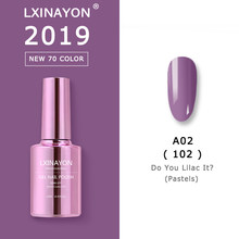 2019 NIEUWE Gel Polish Vernis Nail Art Voor Manicure UV Kleuren Vernis Semi Permanente Hybrid Nagellak Set Gel Lak top Primer Base(China)