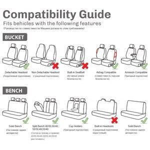 Image 5 - רכב מושב כיסוי 9PCS ו 4PCS צמיג מסלול עיצוב מלא סט אוניברסלי גודל להתאים כרית אוויר מושב כיסוי מגן
