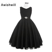 Real Photos Black Color 2018 Lace Ball Gown Bow First Communion Dresses For Girls Long Kids