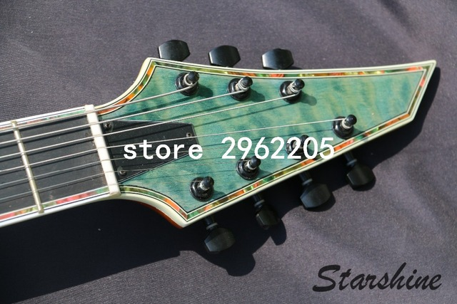7 string guitar Electric Guitar, 24F All Colors available -Free shipping  3
