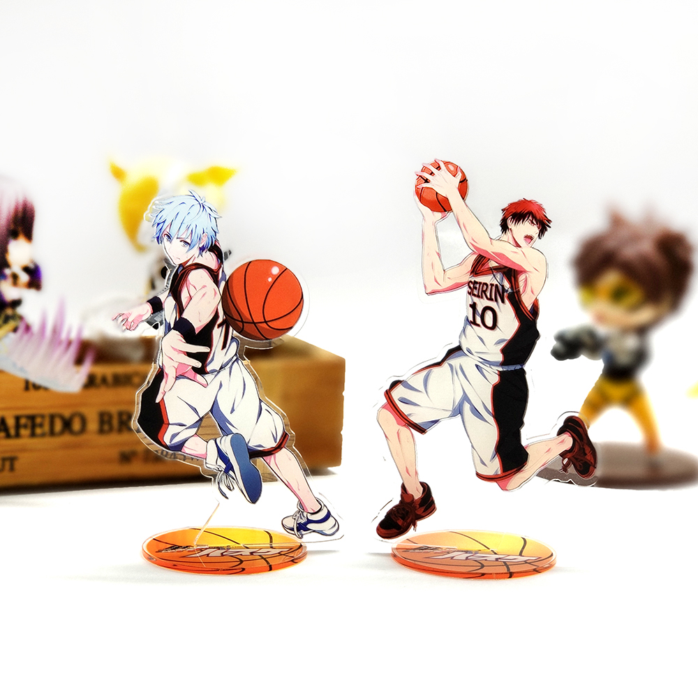 Kuroko No Basket Basuke Kuroko Tetsuya Kagami Taiga Acrylic Stand Figure Model Double-side Plate Holder Topper Anime Basketball