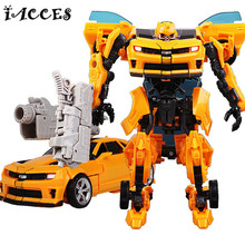 Cool 3 Toys Brinquedos Anime Deformation Robot Car Model Action Figures Juguetes Classic Kids Boy Toys