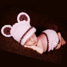 Newborn Baby Girl Boy Knit Crochet Clothes Photo Costume Photography Prop Outfits