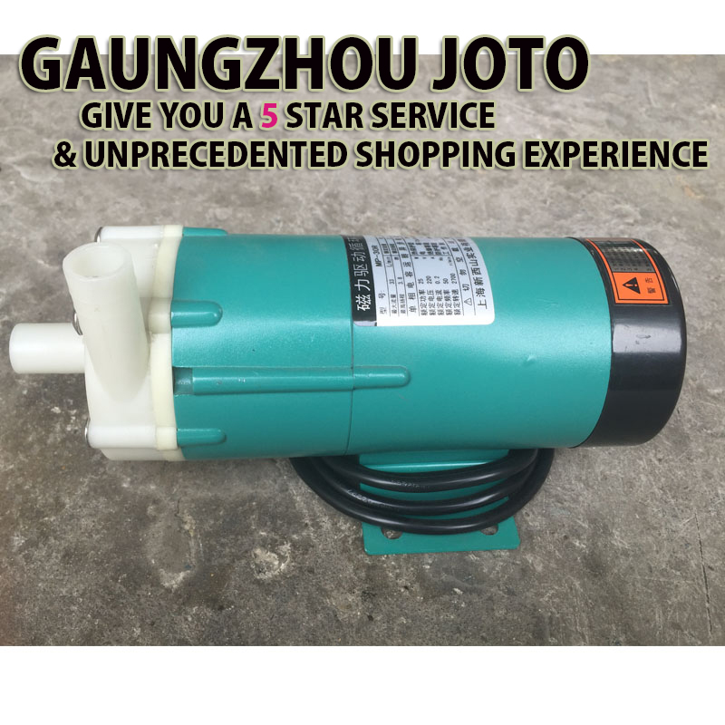 MP-20R High Quality Magnet Driven Pump Acid/Alkali Resistant Pump Plastic Pump For Sucki ...