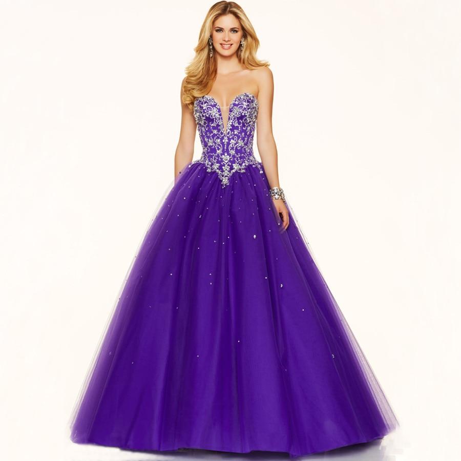 Popular Purple Princess Prom Cheap