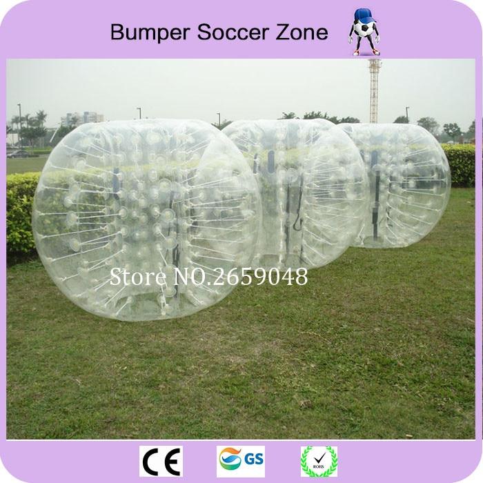 1.5 TPU Ball Bumper Gonflabile pentru Adult Ball Zorb Gonflabile Hamster Umane Ball Bubble Soccer Fotbal (mânere moale)