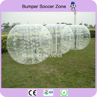 1.5 TPU Inflatable Bumper Ball For Adult Zorb Ball Inflatable Human Hamster Ball Bubble Bumper Soccer Football(soft handles)