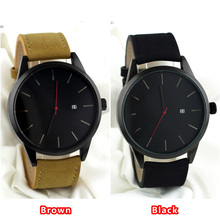 luxury brand men women watches waterproof fashion casual military quartz sports leather wristwatch reloj negro OEM logo