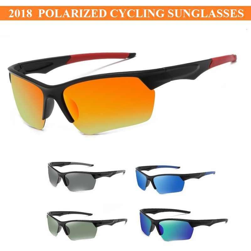 20ecf819635 UV400 Polarized Men Road Bike Bicycle Sunglasses Eyewear Cycling Glasses  Gafas Ciclismo Oculos Ciclismo Carretera Polarizado