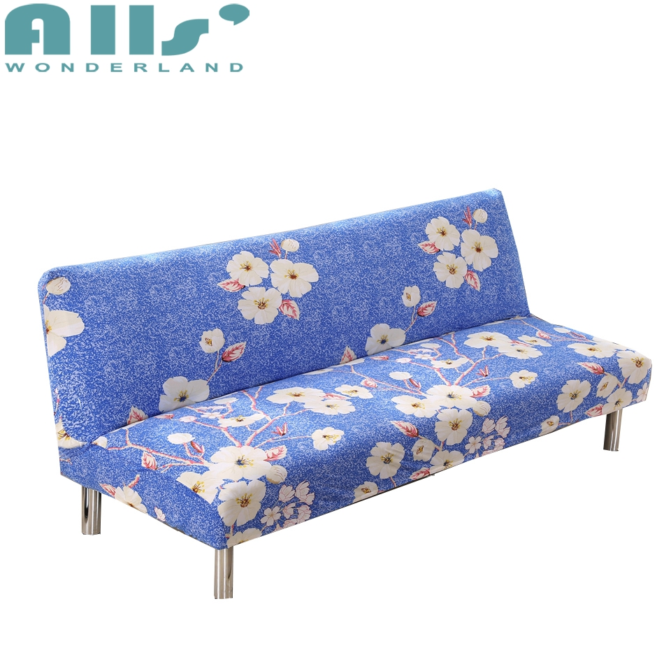 Aliexpress.com : Buy White Flower Pattern Sofa Bed Cover