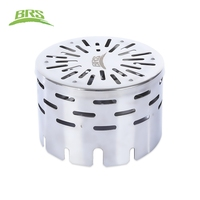 BRS 24 Outdoor Stove Cover Far Infrared Heating Cover Portable Camping Picnic Stove Cover Heater Tent