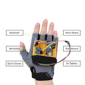 Image 3 - Kit de démarrage geste mouvement Keywish pour Arduino Nano V3.0 Support Robot voiture intelligente MPU6050 Module Gyroscope accéléromètre 6 axes