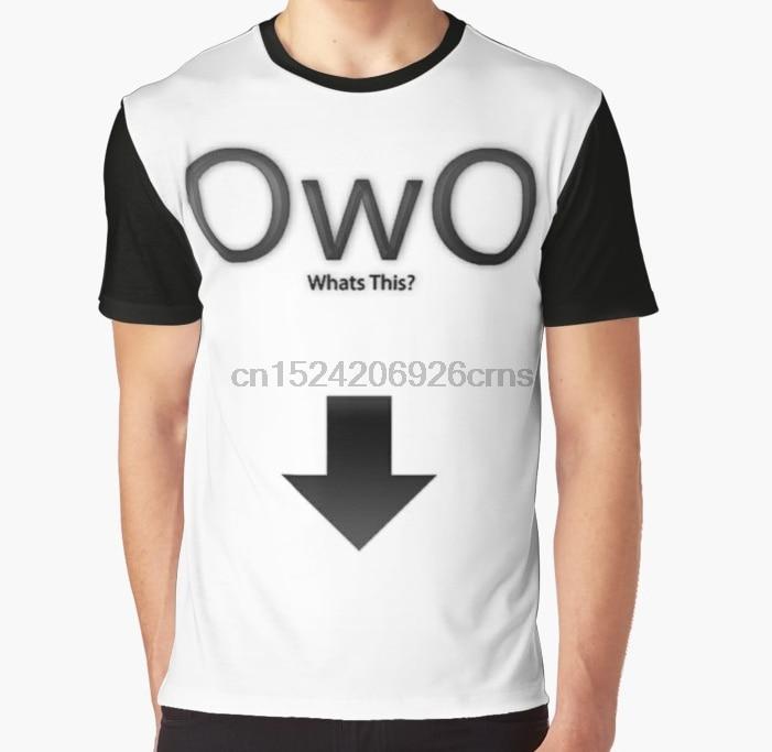All Over Print 3D Women T Shirt Men Funny Tshirt OwO Whats
