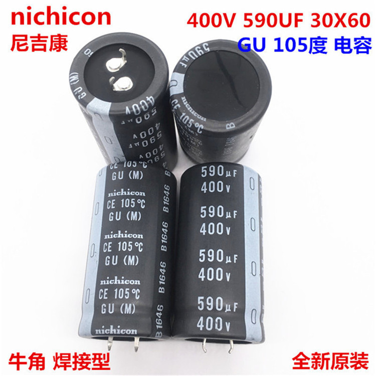 5 Pcs NICHICON Capacitor Electrolytic Snap In 1000uF 200WV CE 105*C GQ M New