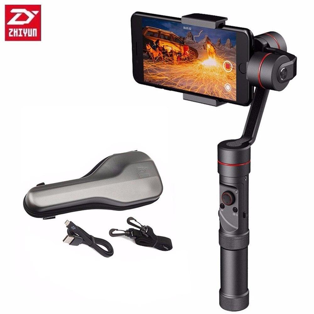 Zhiyun Lisse III 3 Axe Mobile De Poche Cardan Smartphone Stablizer pour iPhone X téléphone portable Samsung S8 6 4 Gopro caméra d'action