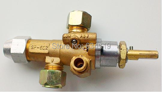 Gas safety automatic cut off valve emergency flameout