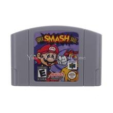 Cartucho de Juego de Nintendo N64 Video Consola Tarjeta Super Smash Bros Inglés Idioma de LA UE Versión Pal