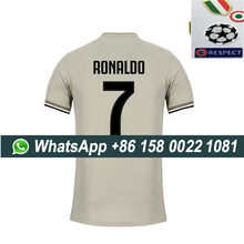 2019 Juventus soccer jersey + all patches RONALDO 7# DYBALA 18-19 Juventus Football shirt with all patches Size S-XL(China)