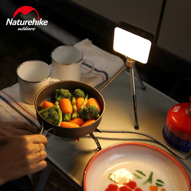 Naturehike Ultra Bright camp tent Lamp portable Functional Lantern LED rechargeable outdoor hand Lamp Super bright 7-180 hours 3