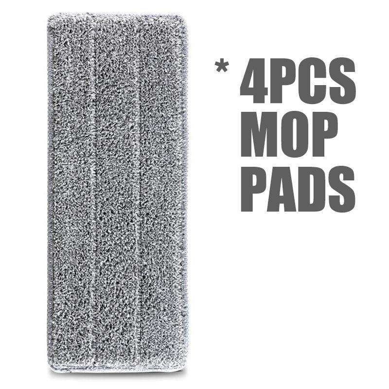 4pcs Mop Pads