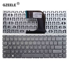 GZEELE English laptop Keyboard for HP 14-AM 14-am000 14-am100 14-am002la 14-am003la Series black without frame US version(China)