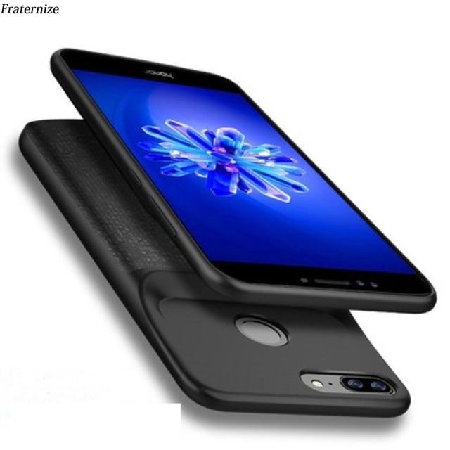 Batterij Case Voor Huawei Honor 8 Lite Charger Back Cover Voor Huawei Honor 9 Lite Case Silm Schokbestendig Power Bank gevallen Capa Funda
