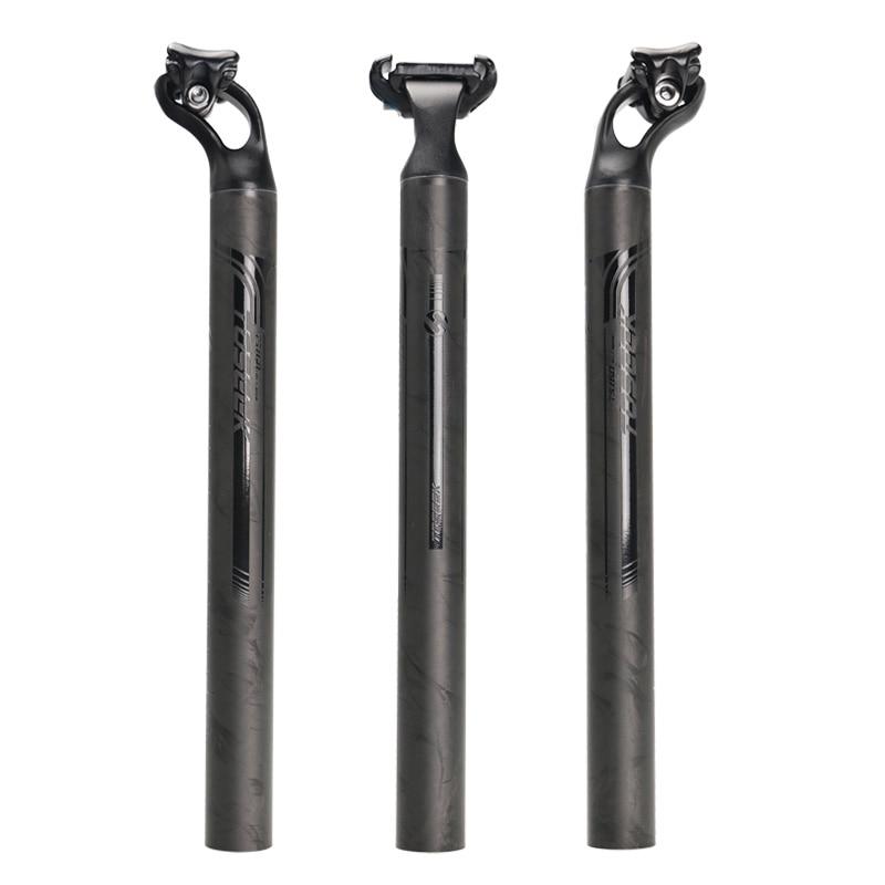 ФОТО TOSEEK bicycle seatpost road mountain bike seatpost MTB offset seat post carbon fiber +aluminum alloy  27.2/31.6mm