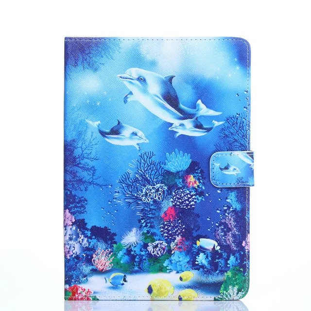 Cartoon Colourful Universal Tablet PU Leather stand cover For ASUS MeMO Pad FHD 10 ME302KL LTE/ME302C 10.1 inch case + pen