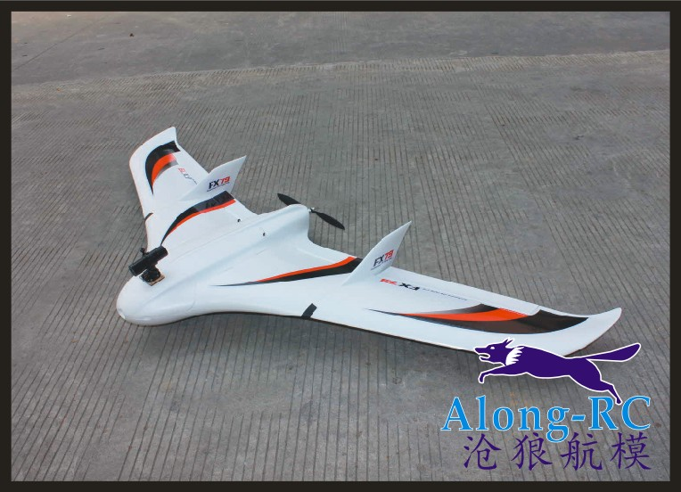 EPO plane RC MODEL airplane FLYWING MODEL HOBBY TOY wingspan 2000mm FPV plane FX79 FX-79 fly wing (KIT SET OR PNP SET) image
