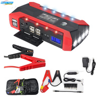 HCOOL Car Jump Starter 600A Peak 20000mAh Portable Auto Battery Power Supply Phone Power Bank Charger