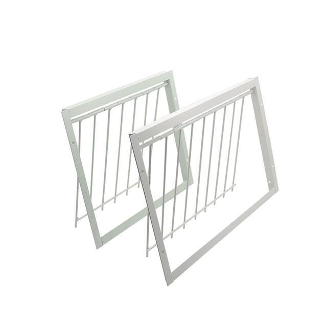 30/40*26cm Pigeon Door Metal Bars Single Entrance Trap 6